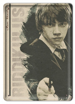 PLAKAT METALOWY SZYLD RETRO HARRY POTTER #11992