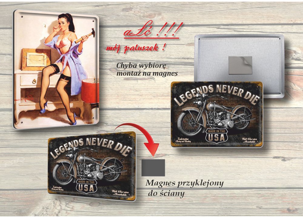 BARBER SHOP PLAKAT METALOWY SZYLD RETRO #12551
